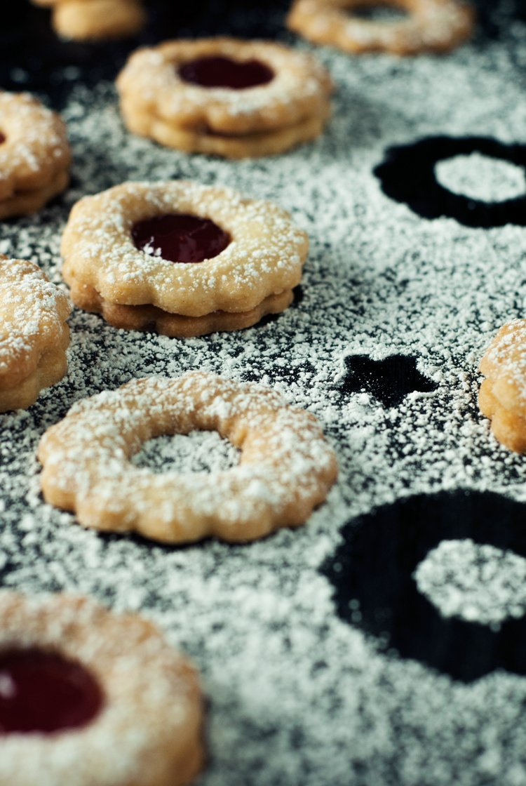 Simple Spiced Linzer Cookies   asimplepantry.com
