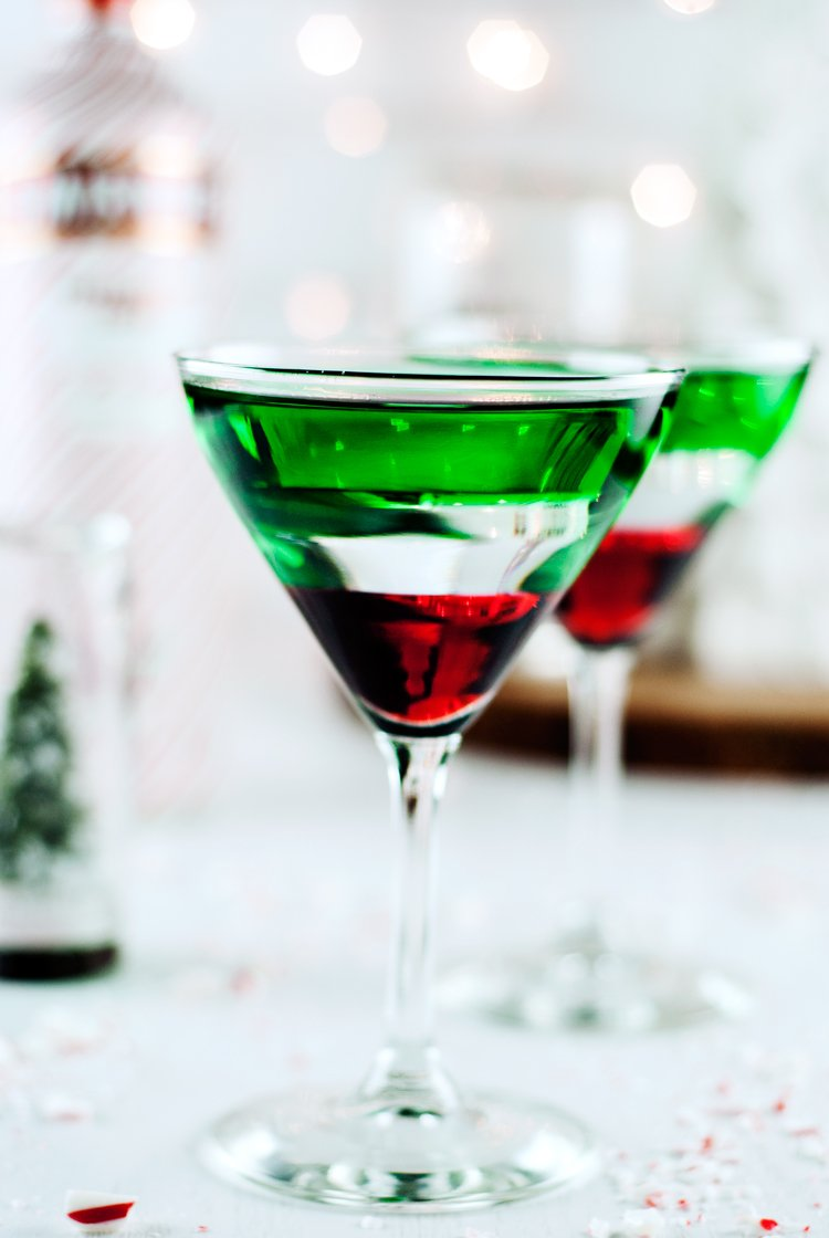 Chocolate Covered Cherry Peppermint Martini A Simple Pantry