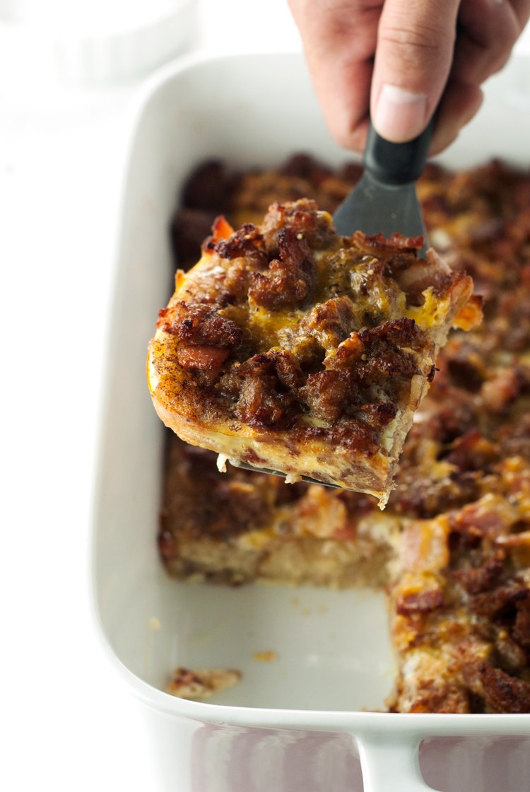 French Toast Breakfast Casserole | asimplepantry.com