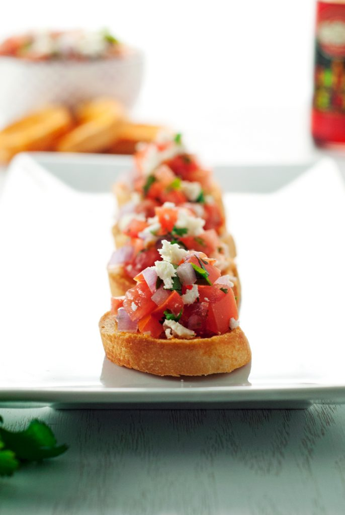 Spicy Mexican Bruschetta