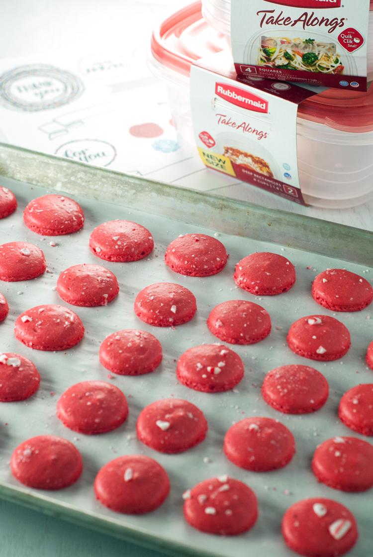 Peppermint Macarons | asmiplepantry.com