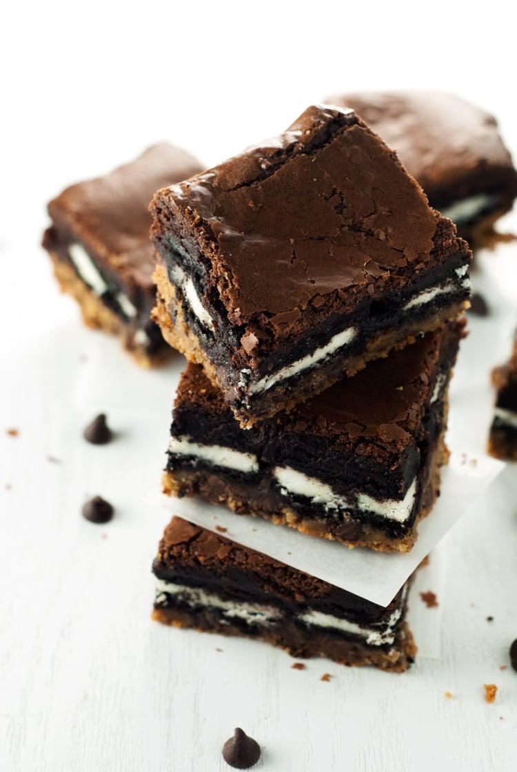 Slutty Brownies Recipe | asimplepantry.com