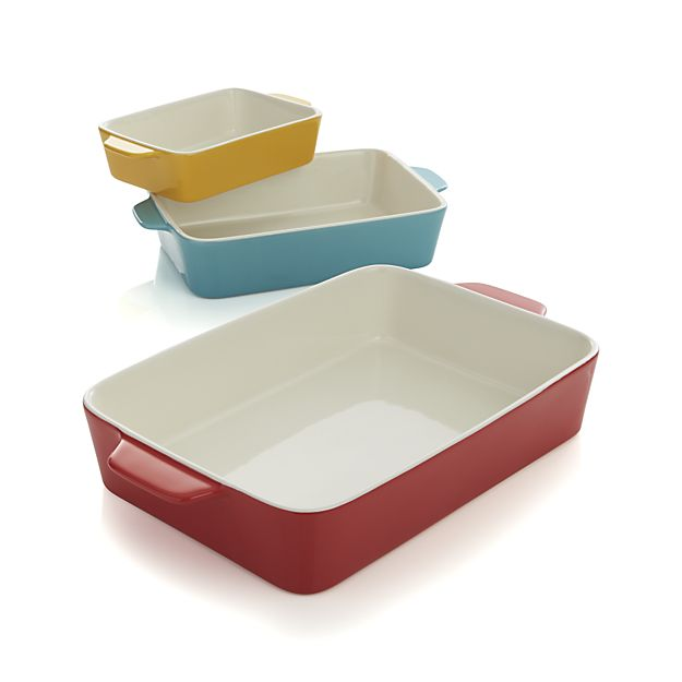 Set of Three Baking Dishes