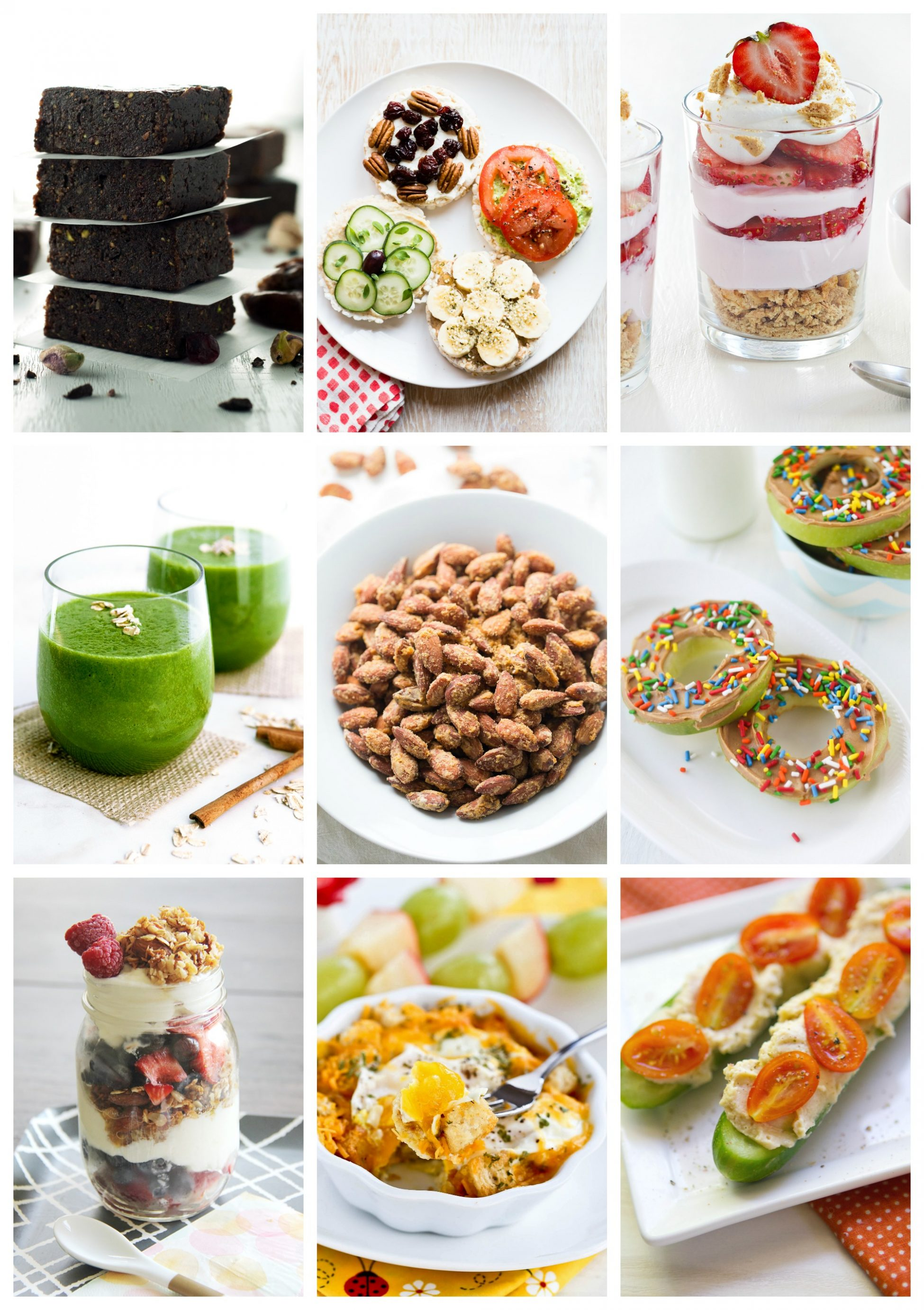 Recipes From 5-Minute Healthy Snacks Cookbook