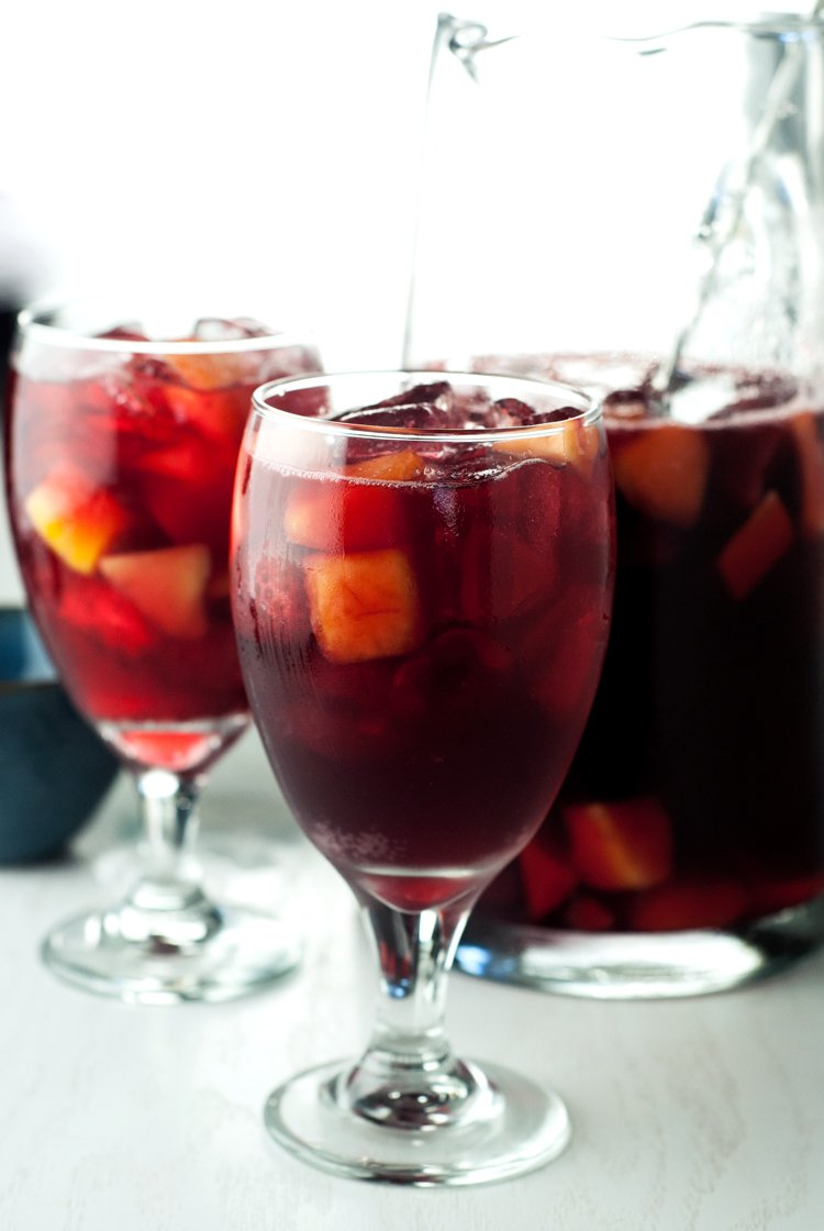 3 Ingredient Red Sangria | asimplepantry.com