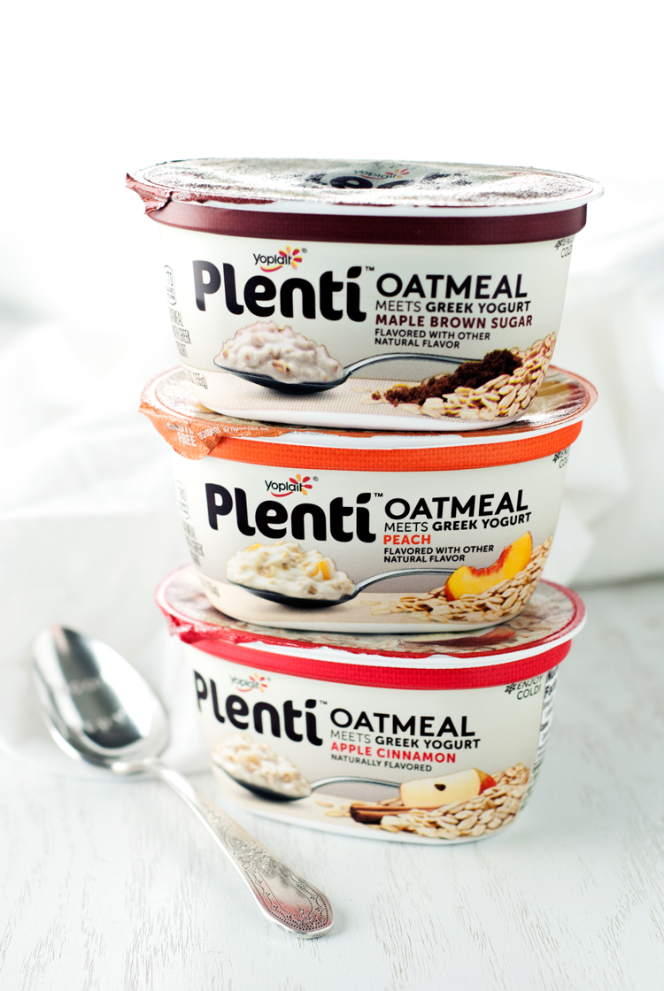 Yoplait Plenti Oatmeal Meets Greek Yogurt | asimplepantry.com