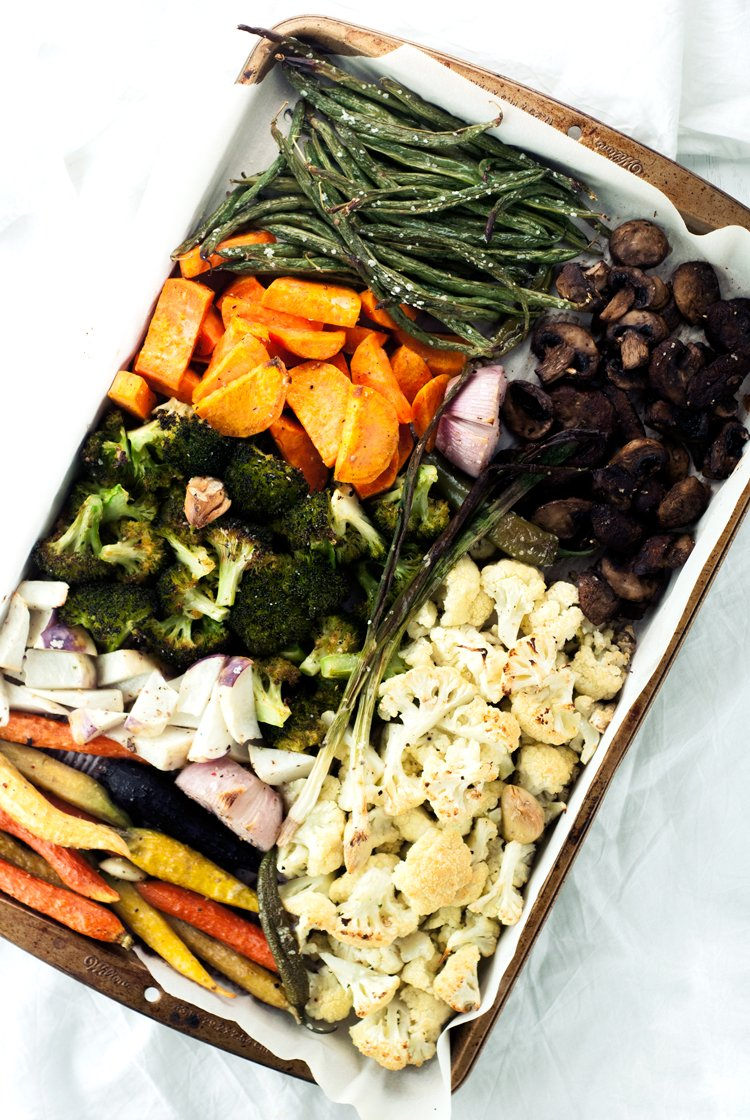 Easy Roasted Vegetables | asimplepantry.com