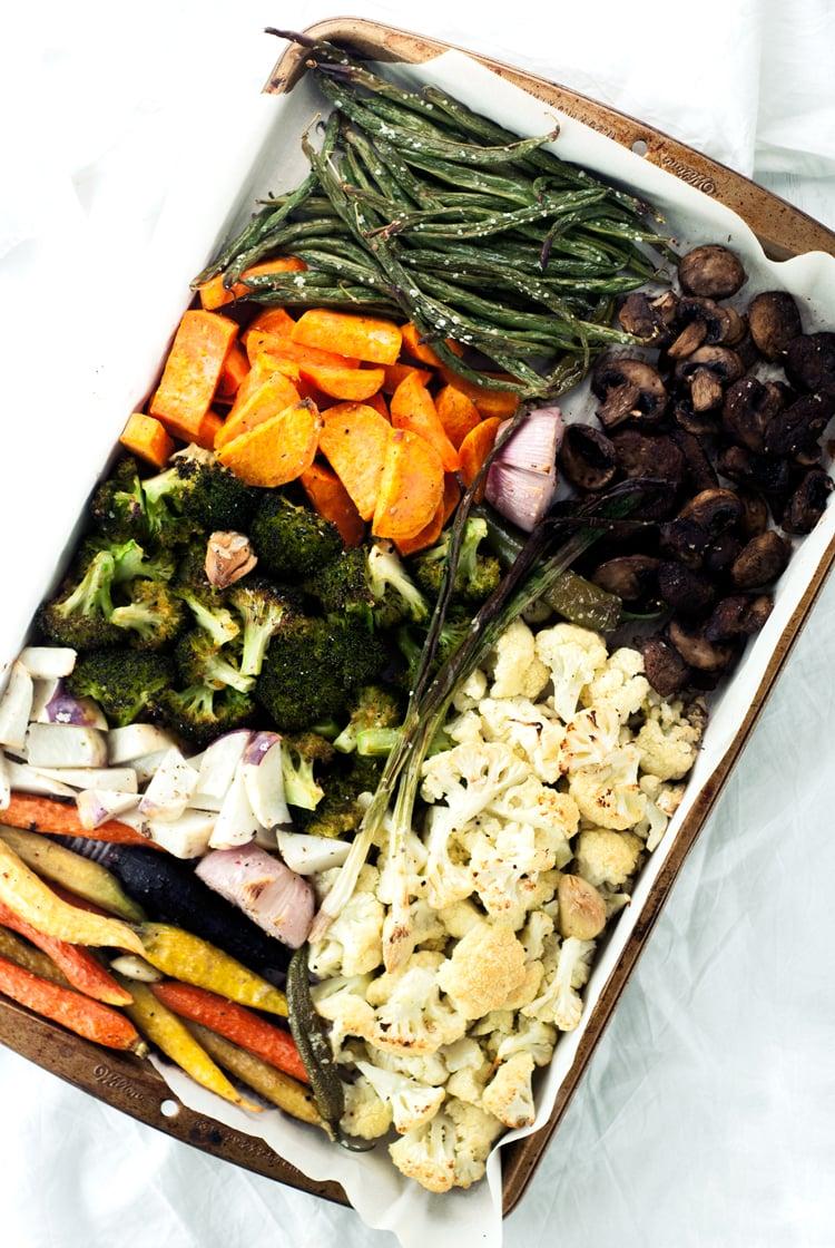 Easy Roasted Vegetables | asimplepantry.com
