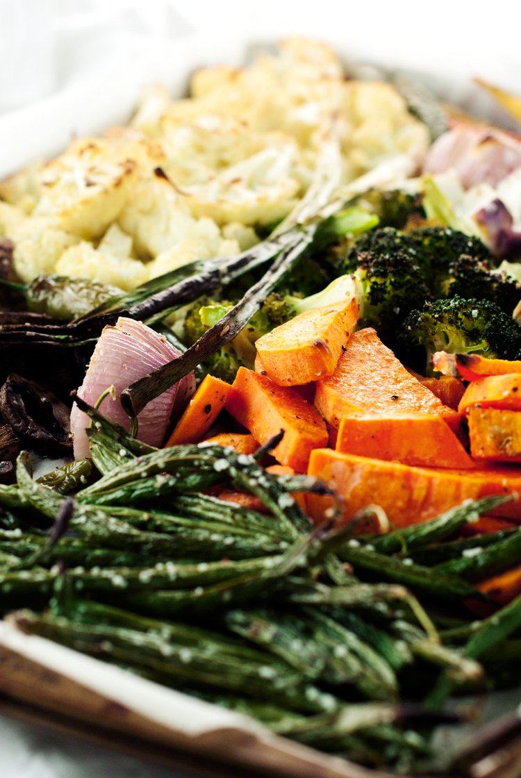 Easy Roasted Vegetables   asimplepantry.com
