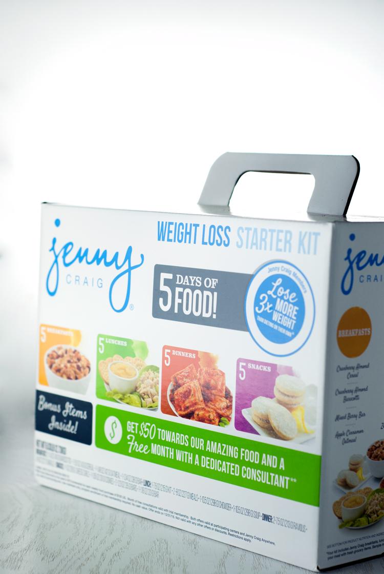 Jenny Craig Starter Kit | asimplepantry.com