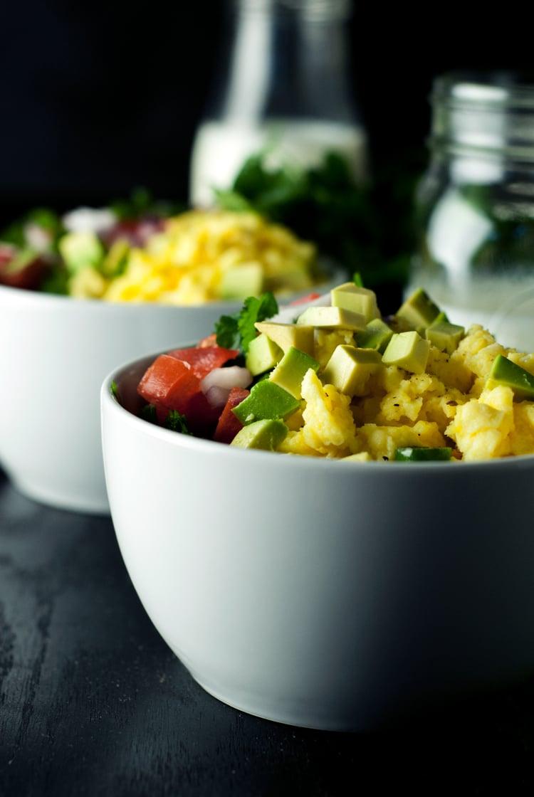 Southwestern Breakfast Bowls Recipe| asimplepantry.com