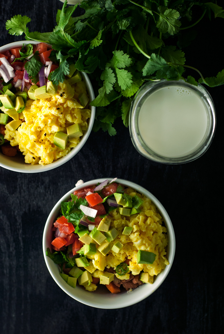 Southwestern Breakfast Bowls Recipe   asimplepantry.com