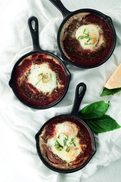 Single Serving Shakshuka Recipe