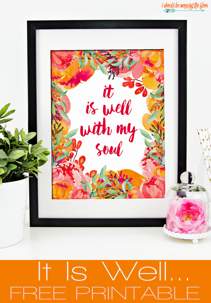 it is well free printable