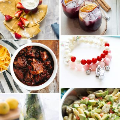 Create & Share DIY and Recipe Party {99}