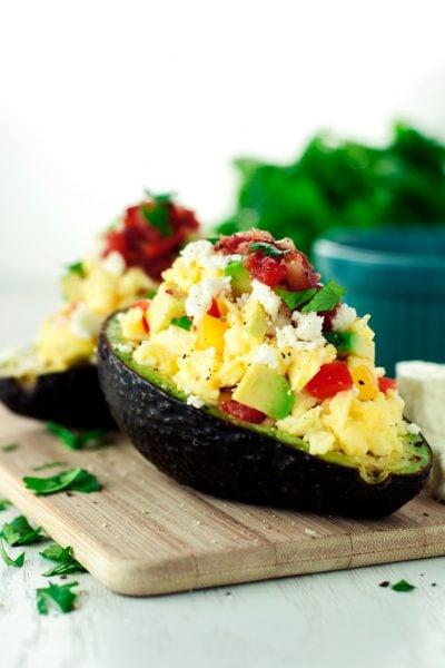 Southwestern Stuffed Avocado Recipe