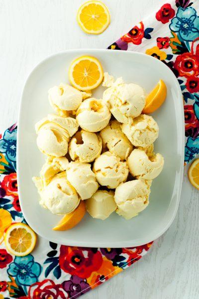 Lemon Meringue Pie Homemade Ice Cream
