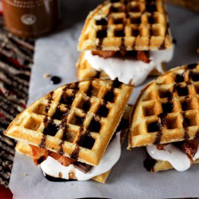 Bacon Waffle Smores