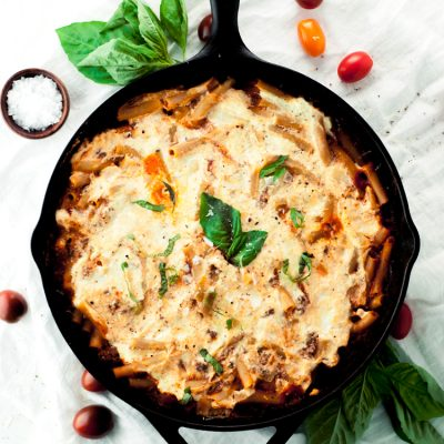 Baked Ziti One Pan Pasta