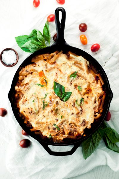 Baked Ziti One Pan Pasta