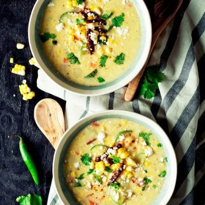 Mexican Style Easy Corn Chowder