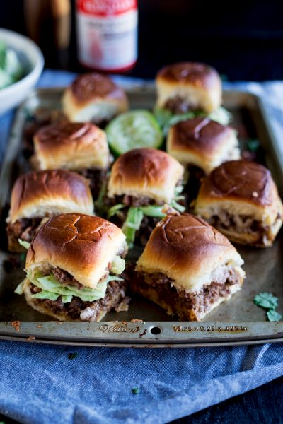 BBQ Bacon Cheeseburger Sliders