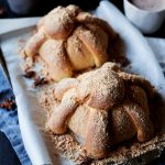 Get ready for Dia de los Muertos with this iconic Pan de Muerto, or rather, Bread of the Dead! Featuring citrus and anise flavors, this bread is a true treat! | asimplepantry.com