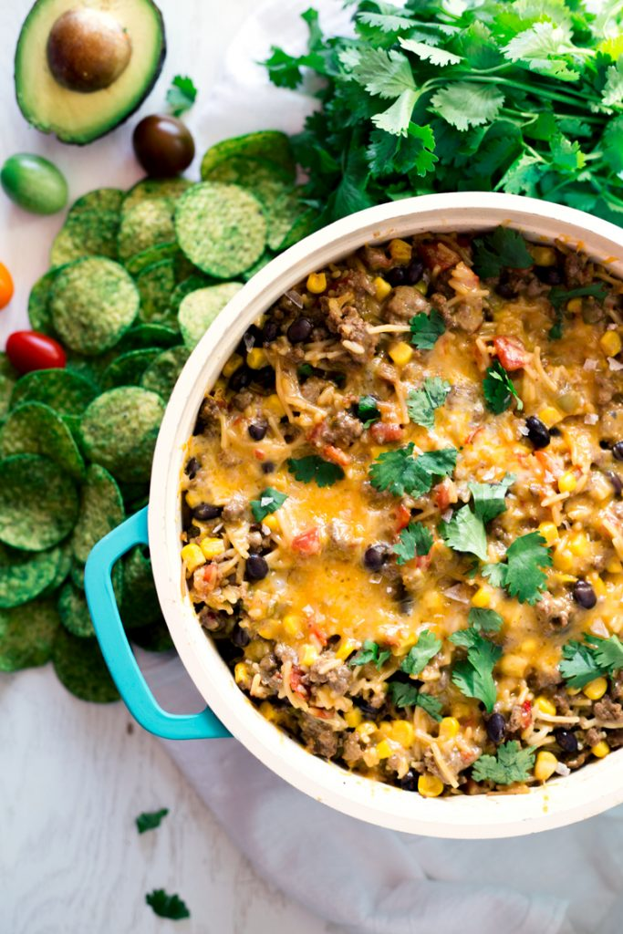 Cheesy Mexican Chili Rice