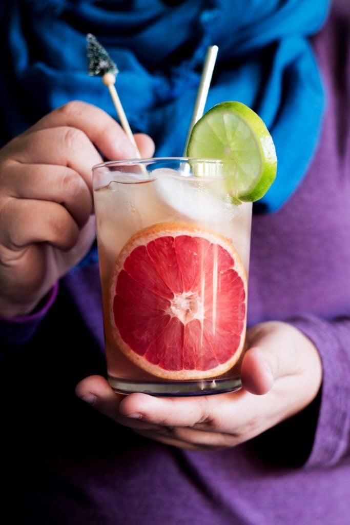 Watermelon Paloma Cocktail