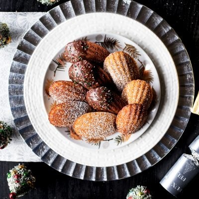 Three French Madeleines