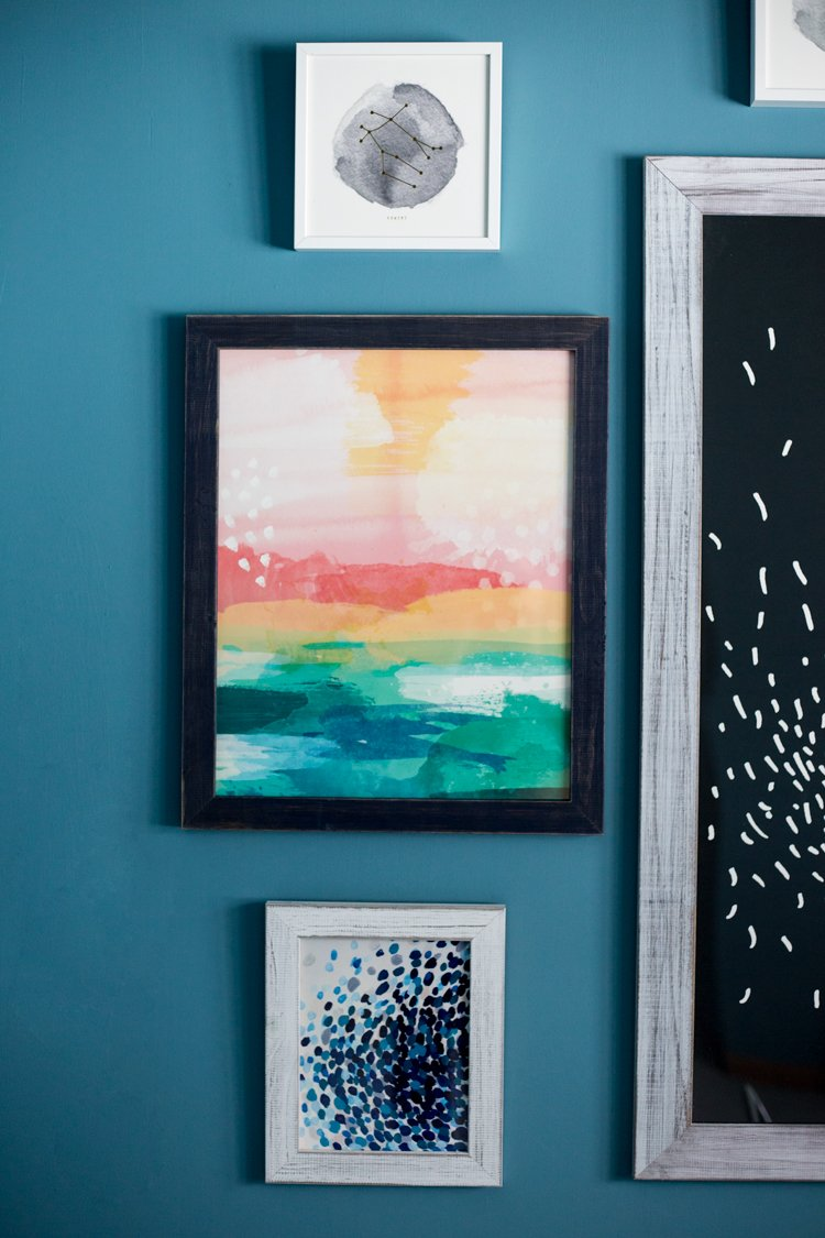 Not ready to remodel? Then redecorate! With these stunning art pieces from @Minted, transforming a room is a breeze!   asimplepantry.com