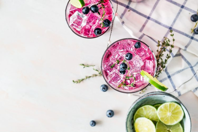Simply Sweet Blueberry Thyme Smash