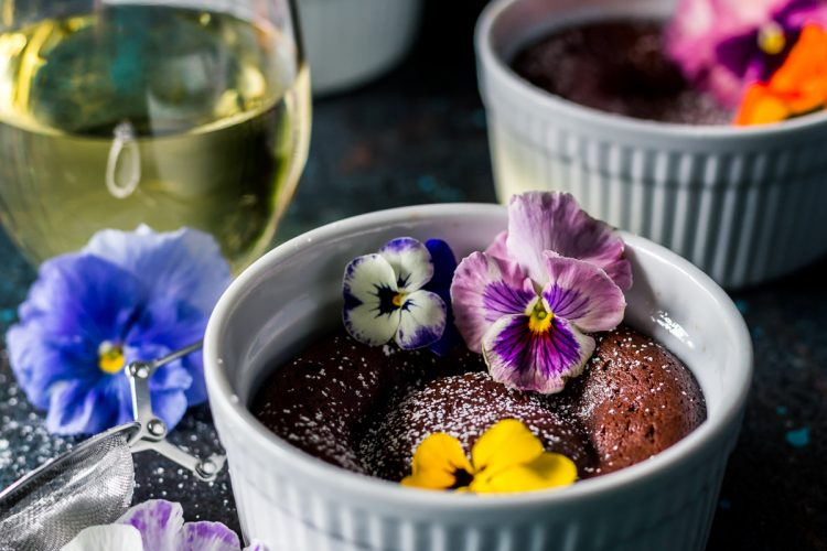 Simple Chocolate Lava Cakes