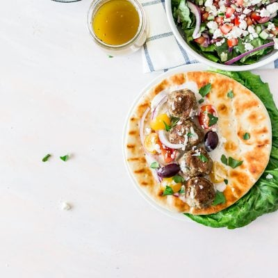 Simple Homemade Greek Meatballs (Keftedes)