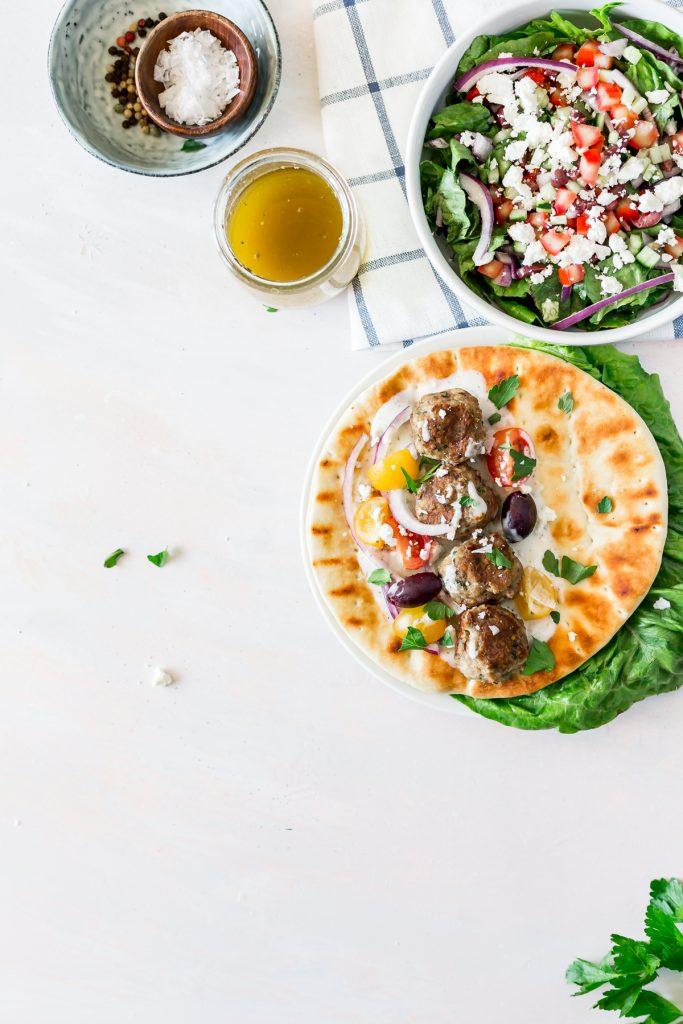 Simple Homemade Greek Meatballs (Keftedes)