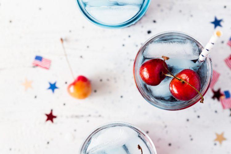 Cherries Jubilee Cocktail
